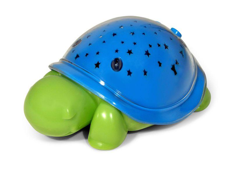 Image of Mini natlampe / rejse lampe fra Cloud b - SuperMax the Turtle - Blue (CB7580-SM)