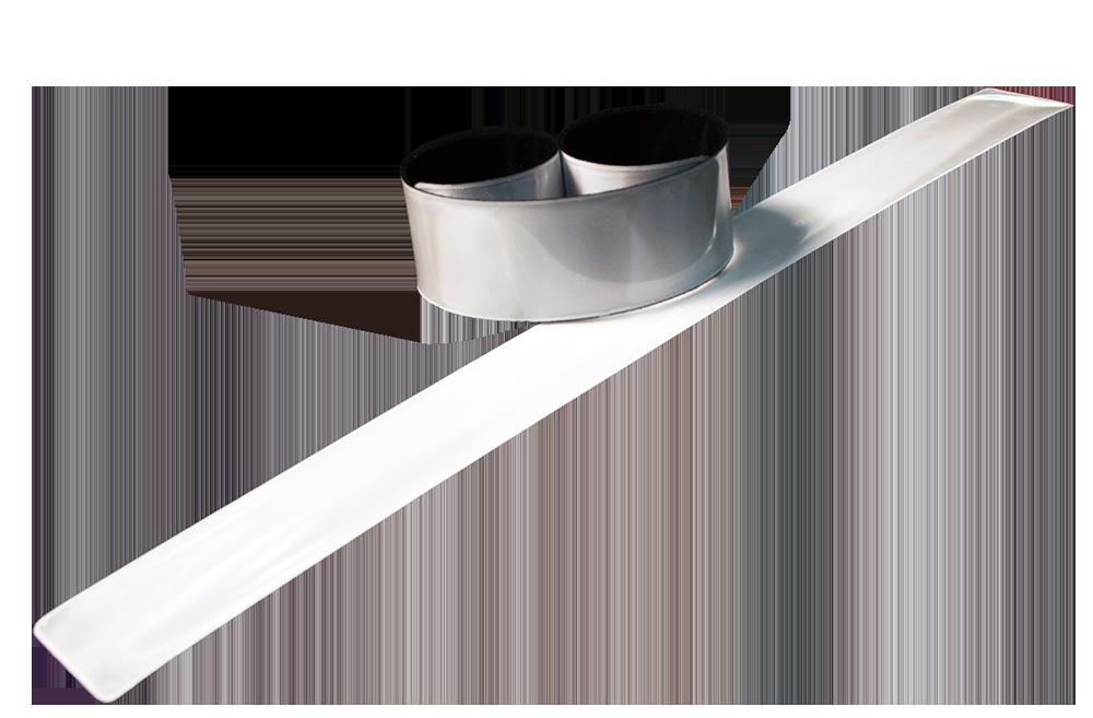 Image of Refleks SlapWrap XXL fra SoftReflector - Hvid (1 stk) (SW-010.1)
