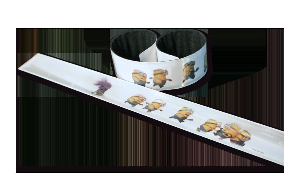 Image of Refleks SlapWrap fra SoftReflector - Minions og Evil Minion (SW-003.28)