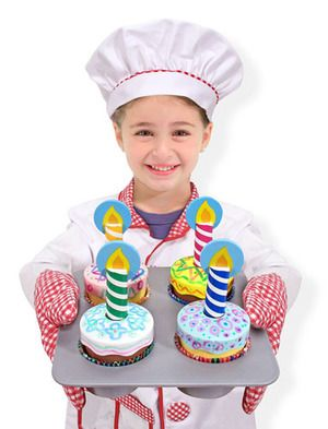 Legemad fra Melissa & Doug - Decorate Cupcake Set