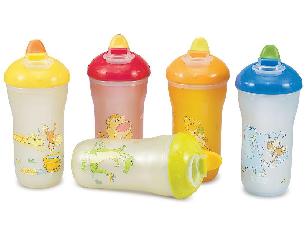 Nuby – Termo drikkeflaske fra nuby - no-spill™ soft-sipper™ (9+ mdr.) fra babygear.dk