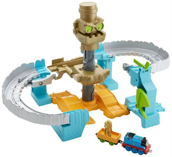 Image of Togbane m. Thomas & Friends Adventures - Robot Rescue Set (TMS-TOY09)