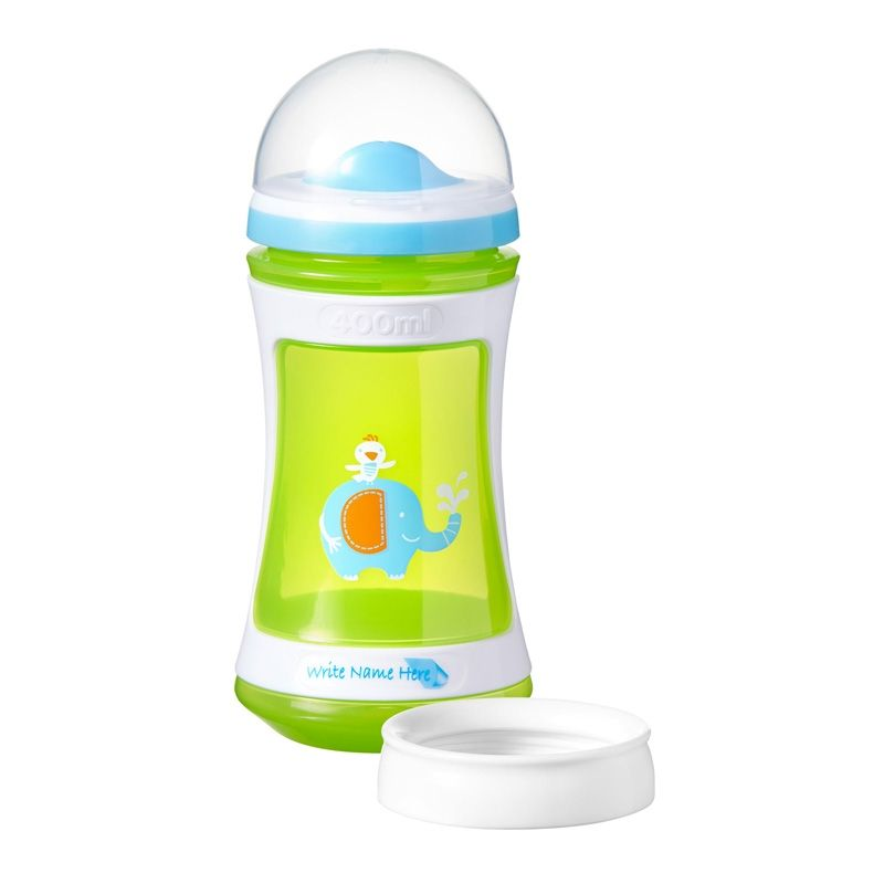 Image of   Drikkeflaske/Drikkekop 2-i-1 fra Tommee Tippee Discovera (2+) - Lime
