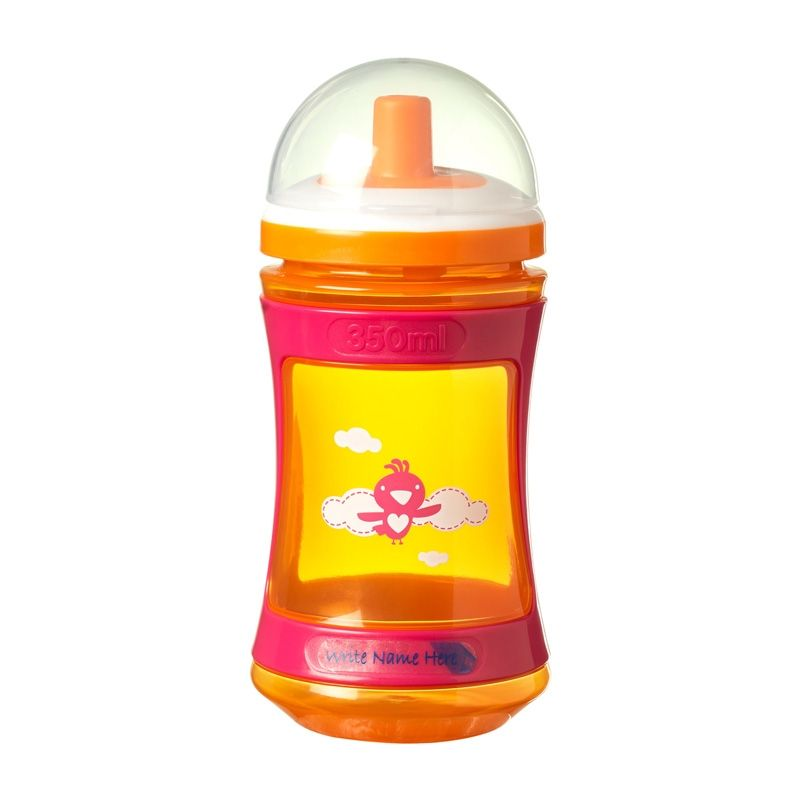 Image of Drikkeflaske fra Tommee Tippee Discovera (12+) - Orange/Pink (CTN-FED46_orange)
