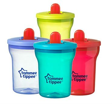 Image of   Tommee Tippee Essentials First Beaker (4m+)
