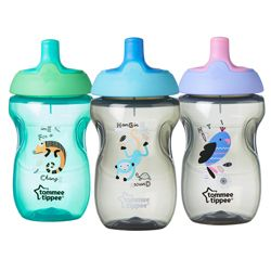 Tommee tippee Tommee tippee drikkeflaske - explora sports bottle (12m+) fra babygear.dk