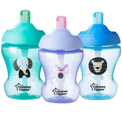 Training straw cup fra tommee tippee (7m+) fra Tommee tippee fra babygear.dk