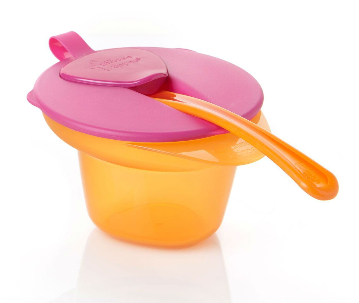 Image of Cool & Mash Bowl fra Tommee Tippee - Pink (4m+) (TT-FED13_Pink)