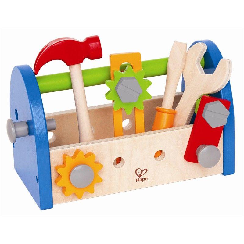 Image of   Værktøjskasse - Fix-it Tool Box - fra Hape