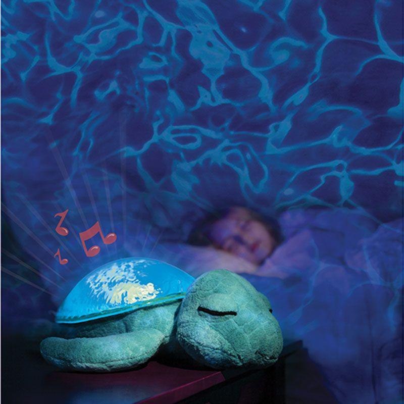 Image of Natlampe fra Cloud b m. undervandslys og -lyd - Tranquil Turtle Turkis (CBTTT)