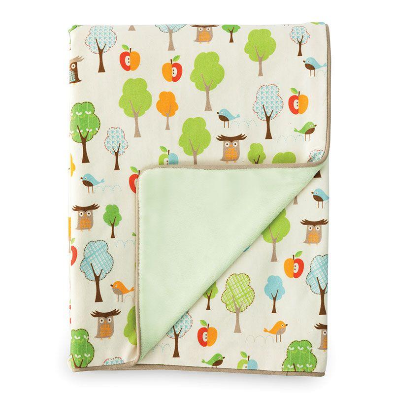 Billede af Tæppe fra Skip Hop - Treetop Friends (75 x 100)