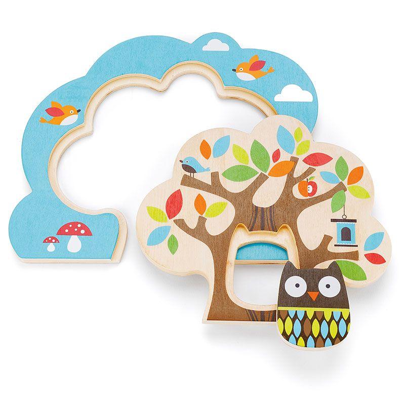 Image of   Treetop Friends træ puslespil fra Skip Hop