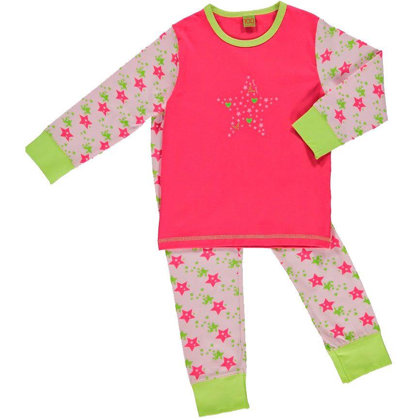 Image of   Pyjamas fra CelaVi - Pink Star