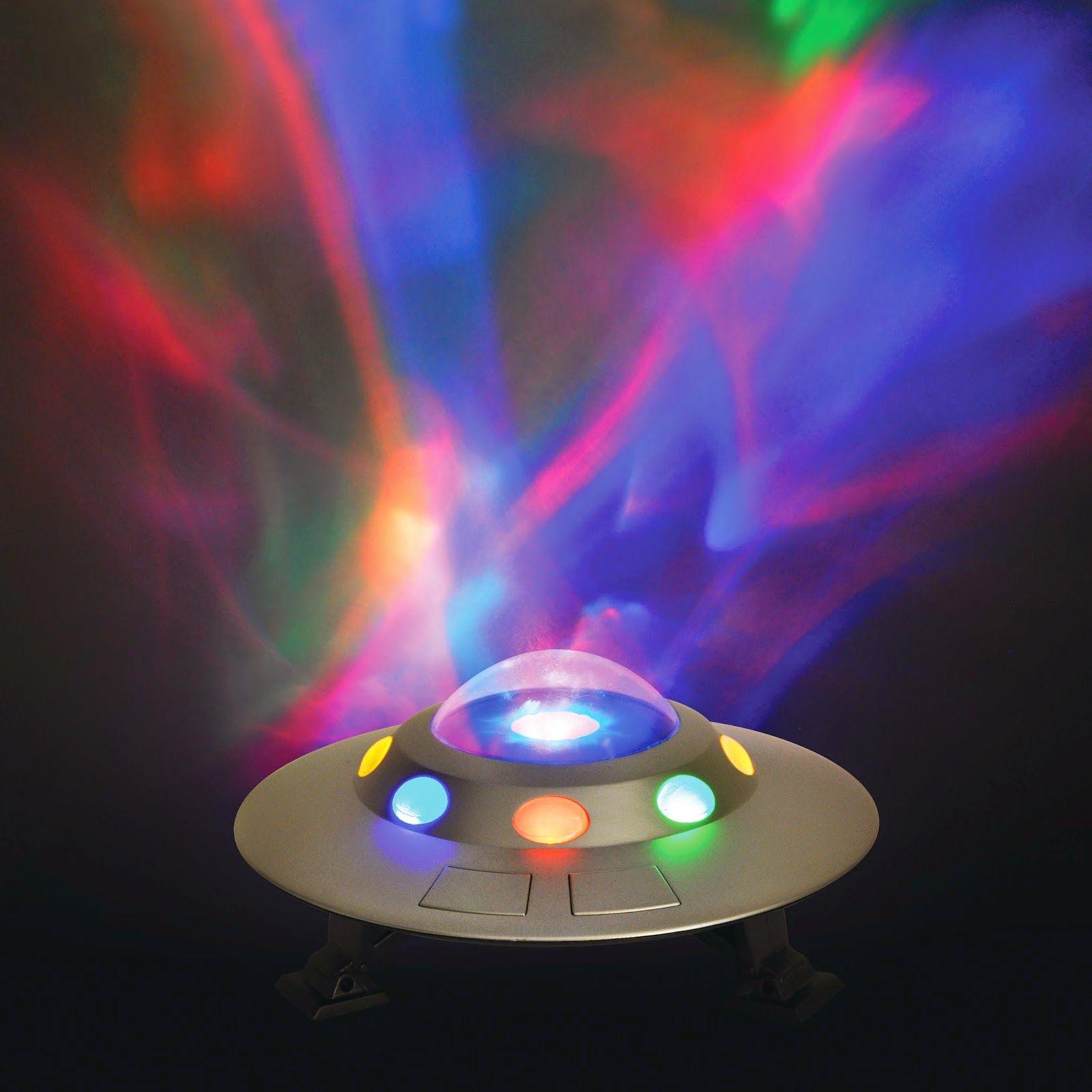 Image of Natlampe fra Cloud b - Cosmic UFO m. Nordlys (3+) (872354009608)