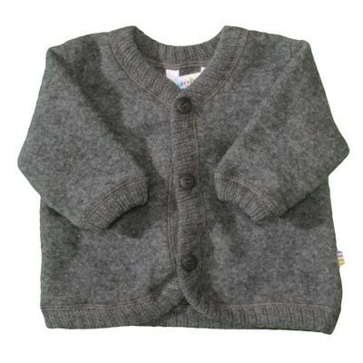 Image of   Cardigan fra Joha - Soft Wool - Dark Grey