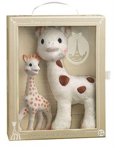 Image of   Sophie la Girafe og Sophie Cherie Gavesæt