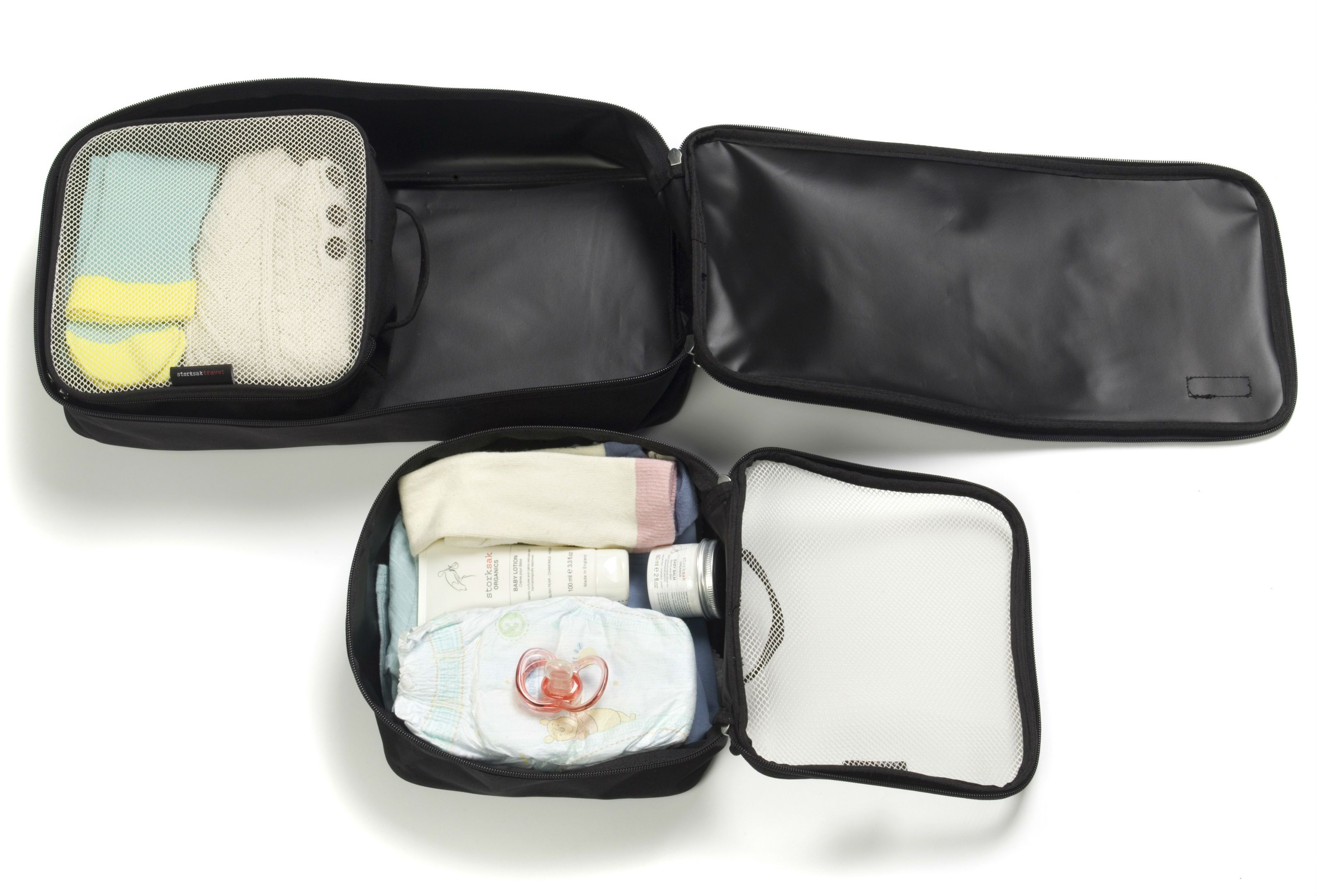 Image of   Packing Blocks fra Storksak Travel (3 stk) - Sort