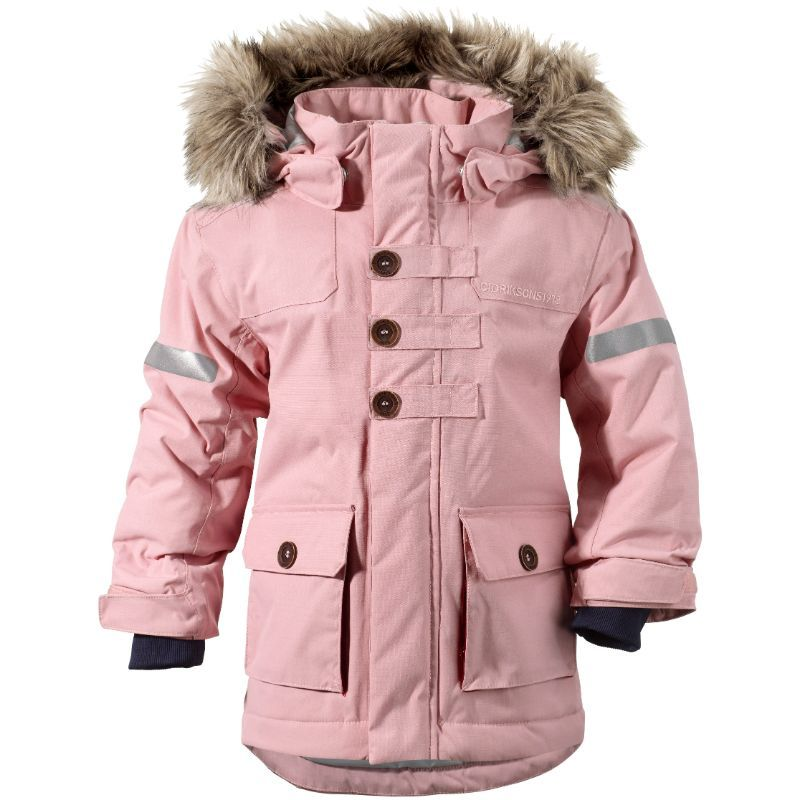 Image of Kids Parka fra Didriksons - Vahca - Dusty Pink (501018-308)
