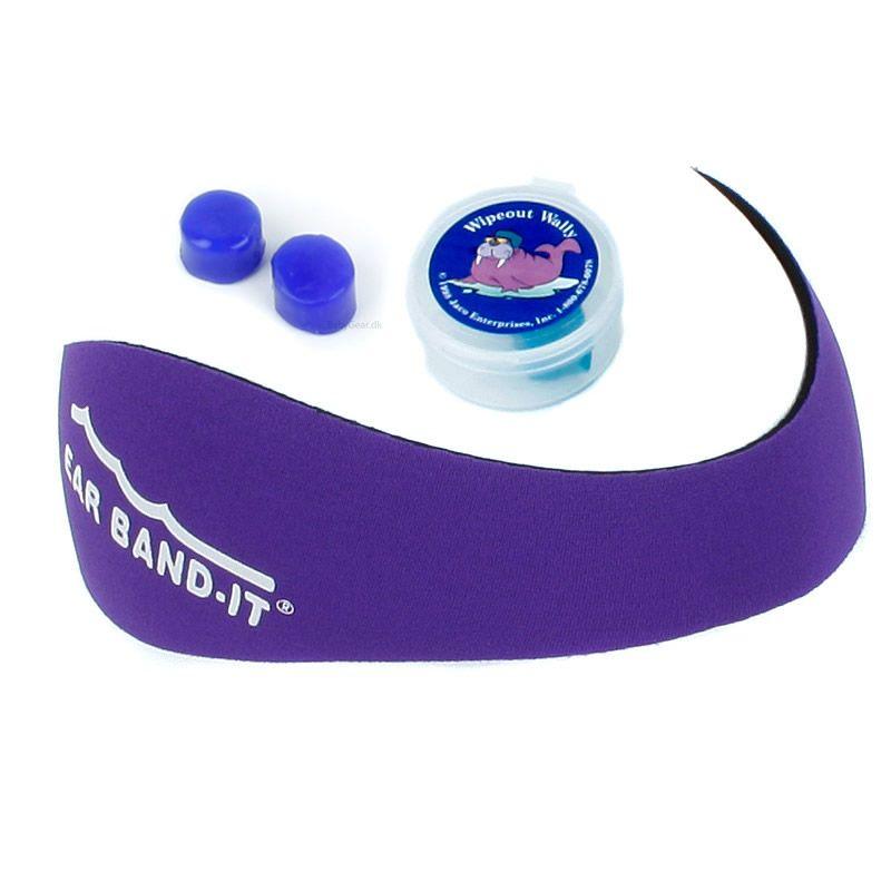 Image of Ear Band-It Kit - Undgå vand i ørerne - Lilla (720927800018-lilla)