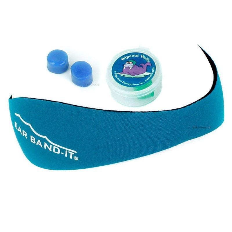 Ear band-it Earband-it kit - undgå vand i ørerne - turkis på babygear.dk
