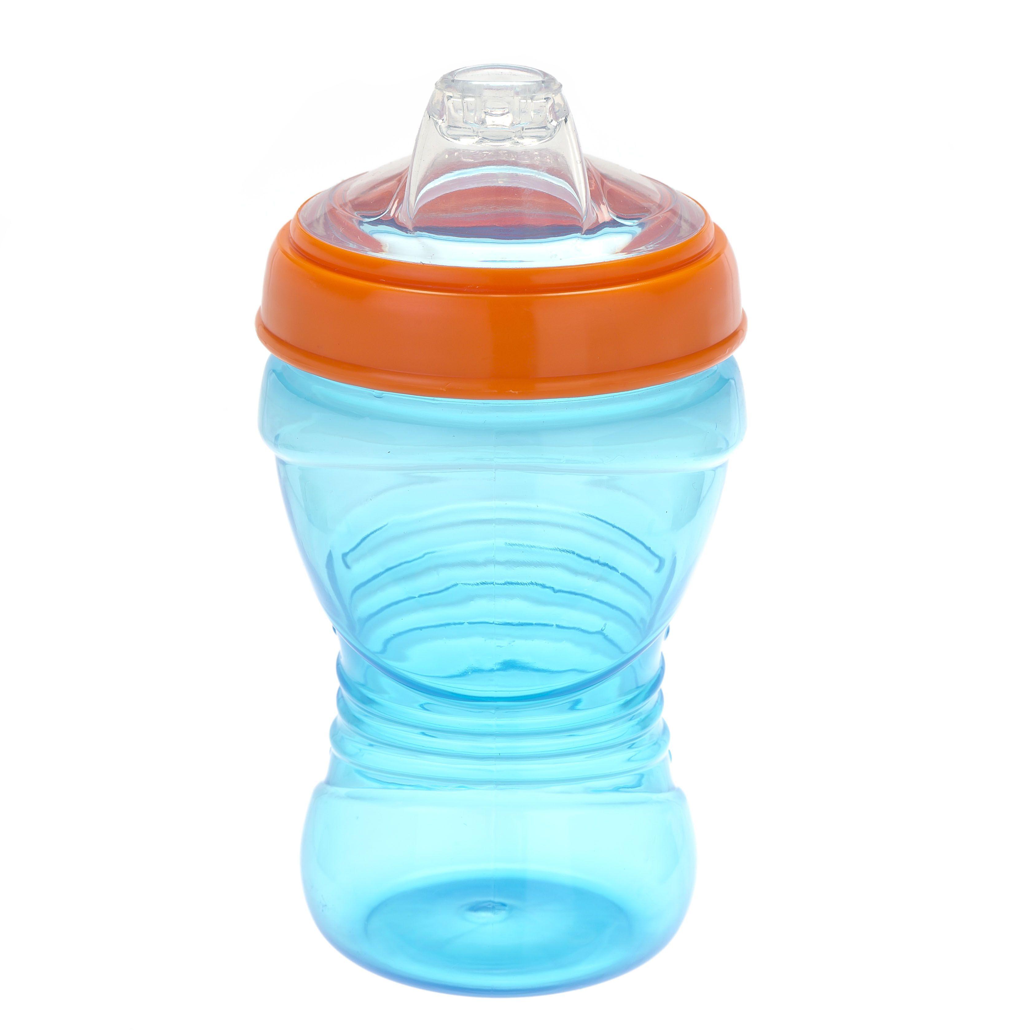 Vital baby Drikkeflaske fra vital baby - spildfri - gripper (9m+) - blå fra babygear.dk