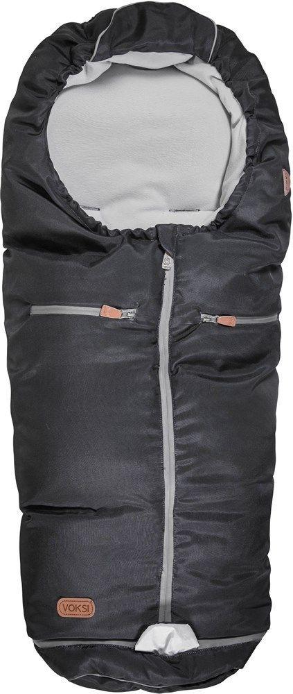 Kørepose fra Voksi - Uld og dun - Active - Iron Antracite (0-5 år)