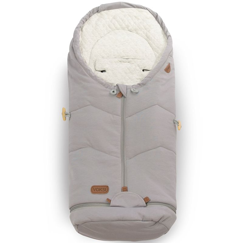 Voksi Move Light babykørepose - Light Grey