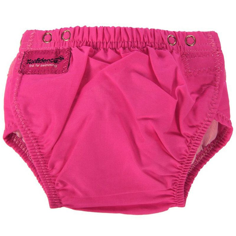 Image of Baby badebukser fra Konfidence - one size fits all - Pink (5060150981449)