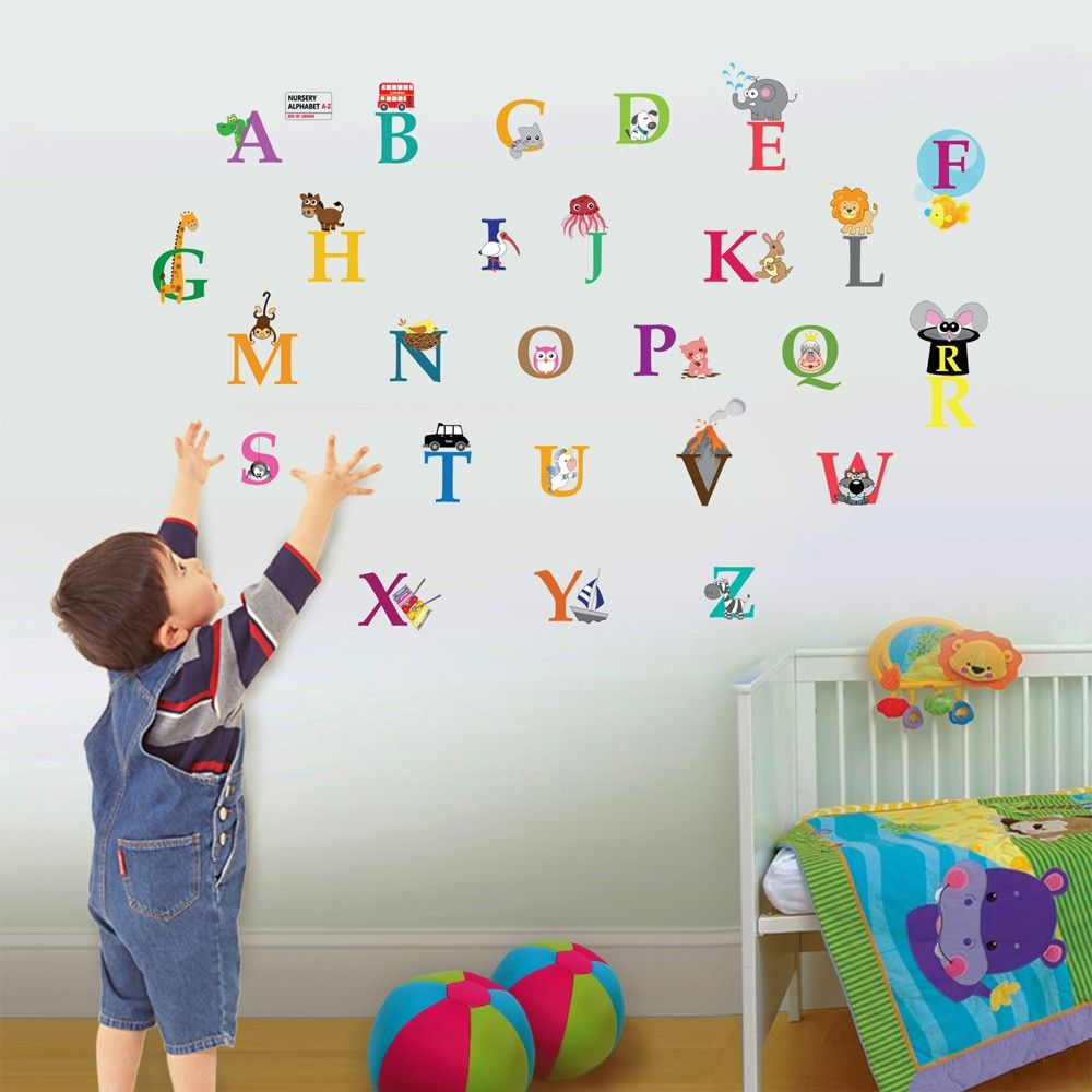 Image of   Wall sticker - Alfabet