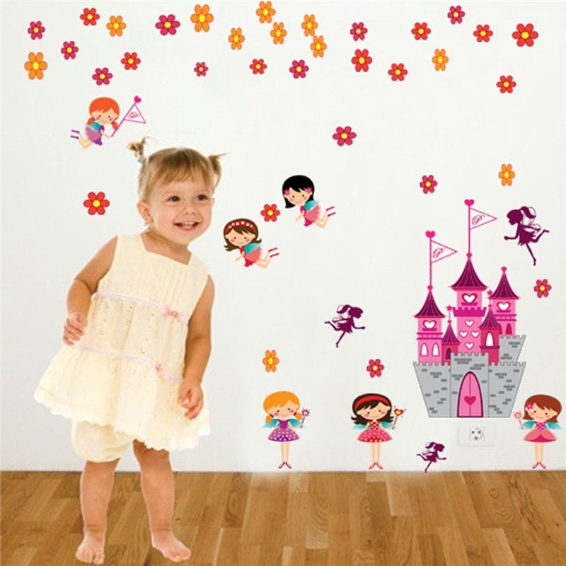 Image of   Wall sticker - Angel Castle