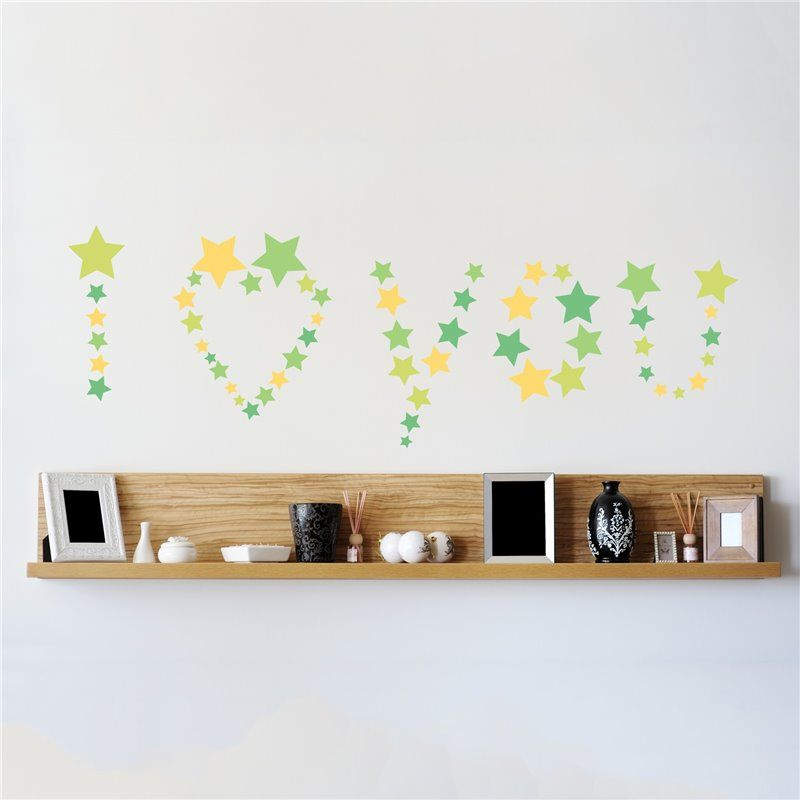 Image of   Wall sticker - stjerner