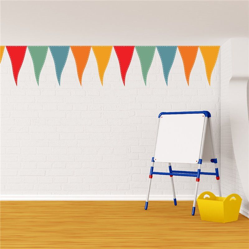 Image of   Wall sticker - Party Flag