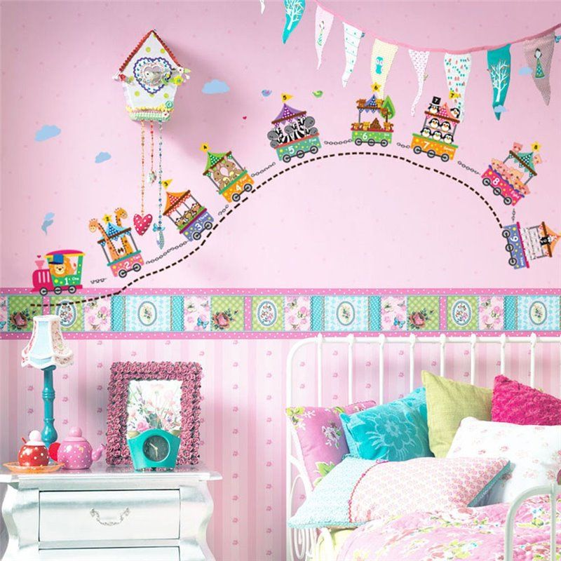 Image of   Wall sticker - Cirkus-nummer
