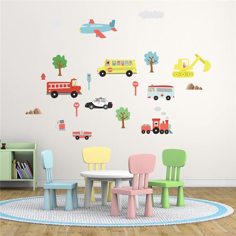 Image of   Wall sticker - Glade biler