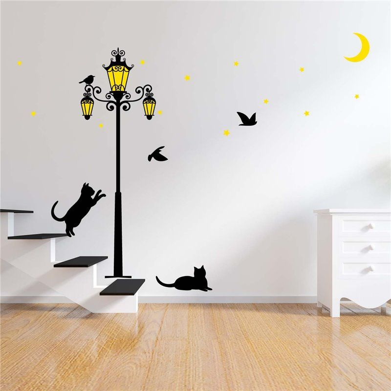 Image of   Wall sticker - Glow i Dark Street Light
