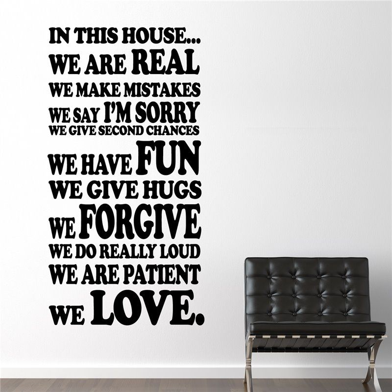 Image of   Wall sticker - Familie Regler II