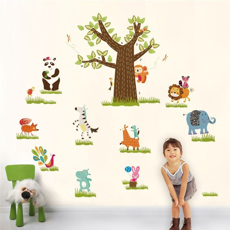 Image of   Wall sticker - Børne Zoo i min Room