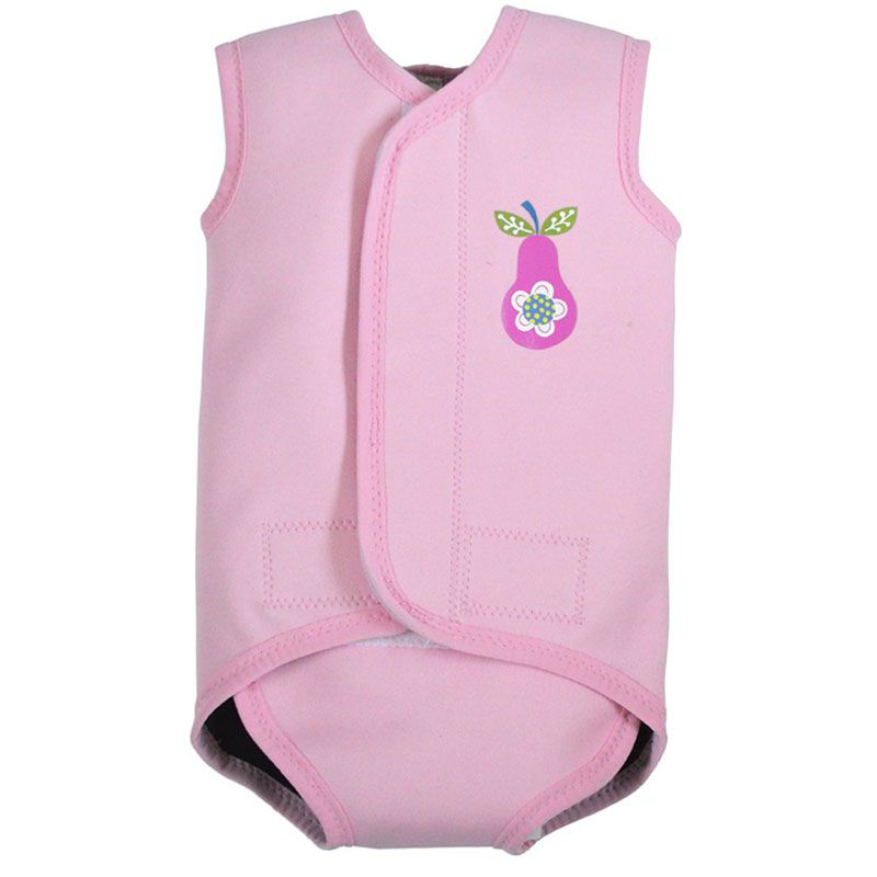 Image of   Baby Wrap fra Splash About - Baby våddragt - Pink Pear