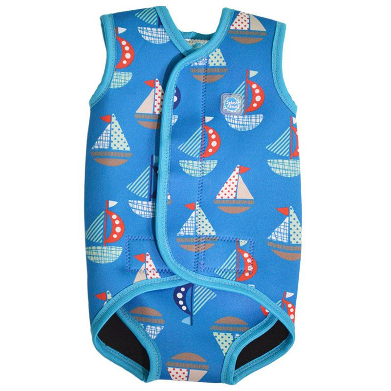 Image of   Baby Wrap fra Splash About - Baby våddragt - Set Sail