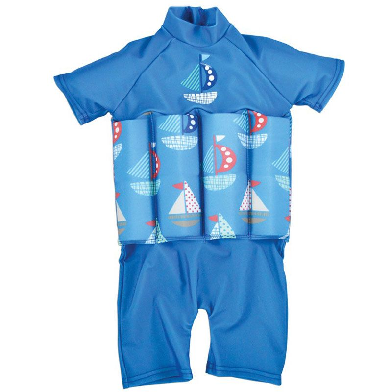 Image of Soldragt m. opdrift fra Splash About - UV Floatsuit - Set Sail (UVFSSSP)