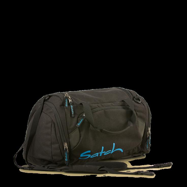 Satch Sportstaske fra satch - duffle bag - black bounce fra babygear.dk