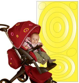 Image of Selvklæbende refleks - Yellow ovals fra SeeME (7070581000013_yellowova)