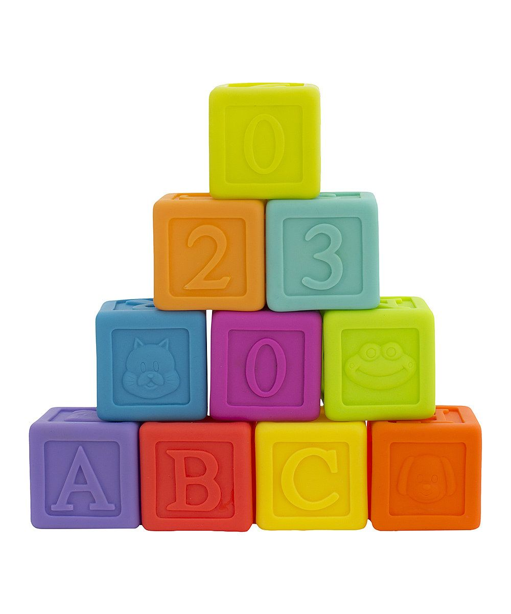 Image of Stack & Tumble Blocks fra Jerrys Class by Playgro (1-0185196)